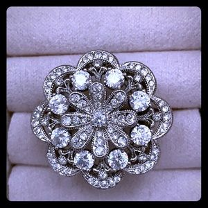 Nadri Flower ring
